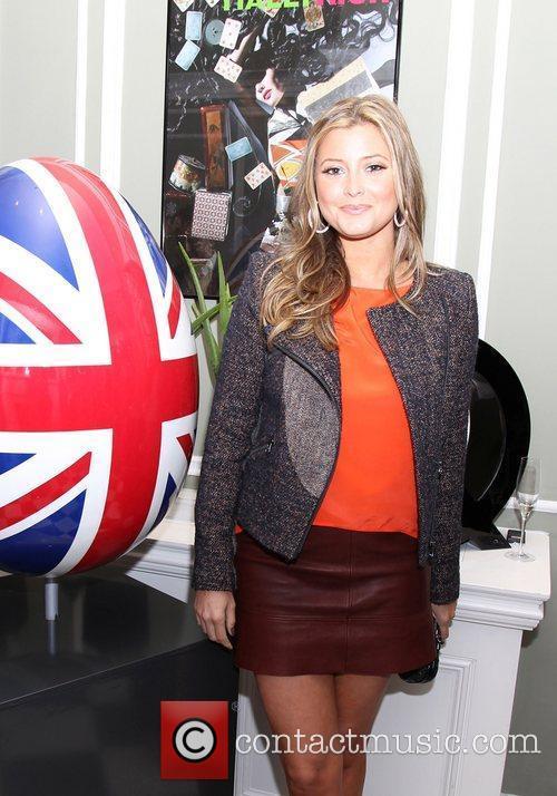 Holly Valance attending the Faberge Big Egg Hunt...