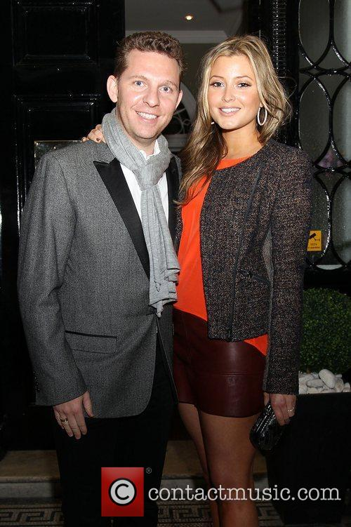 Nick Candy and Holly Valance attending the Faberge...