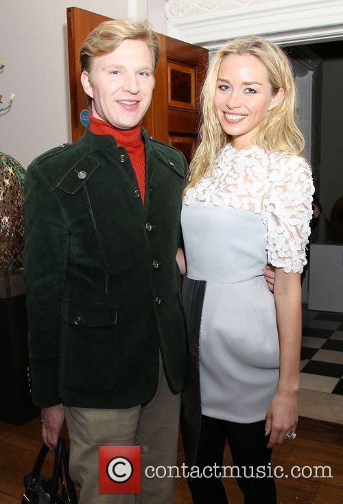 Noelle Reno and guest attending the Faberge Big...