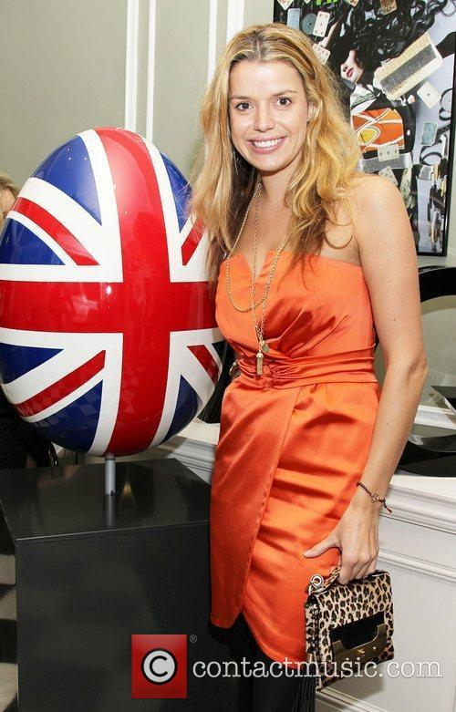 Sabine Roemer  attending the Faberge Big Egg...