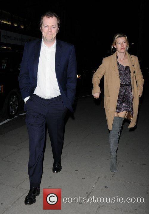 Tom Parker Bowles and wife Sara Buys at...