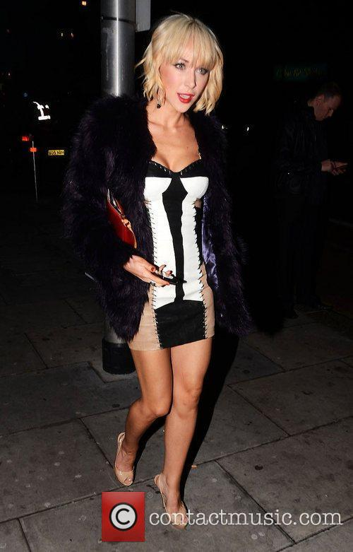 Emily Scott Celebrities at Faces nightclub in Gants...
