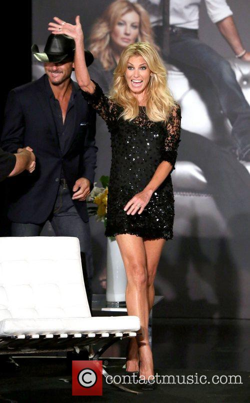 Faith Hill  Country music superstars Tim McGraw...
