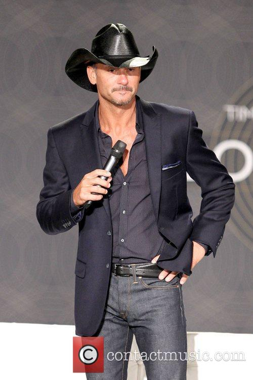 Tim McGraw  Country music superstars Tim McGraw...