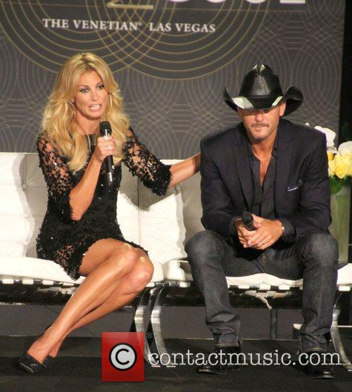 Faith Hill and Tim MCGraw announce shows