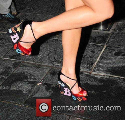 Chloe Cummings of Desperate Scousewives shoes,  at...