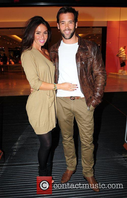 Jennifer Metcalfe and Sylvain Longchambon,  at the...