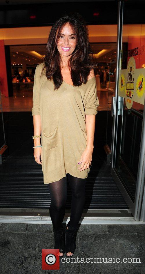 Jennifer Metcalfe and Selfridges 7