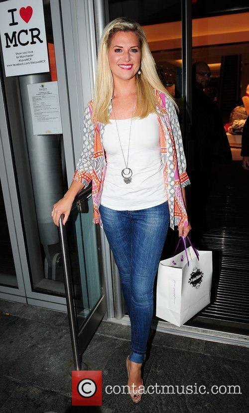 Sarah Jayne Dunn of Hollyoaks,  at the...
