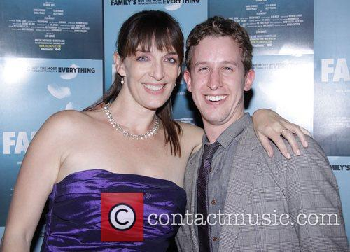 Julia Murney and Alex Wyse Opening night after...