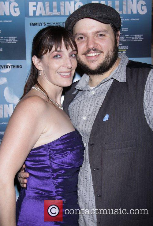 Julia Murney and Daniel Everidge Opening night after...