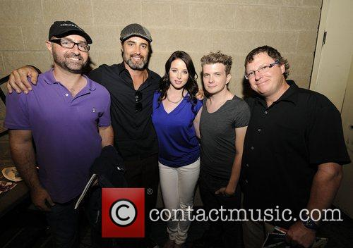 Simon Barry, Erik Knudsen, Rachel Nichols and Victor Webster 1