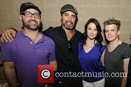 Simon Barry, Erik Knudsen, Rachel Nichols and Victor Webster 2