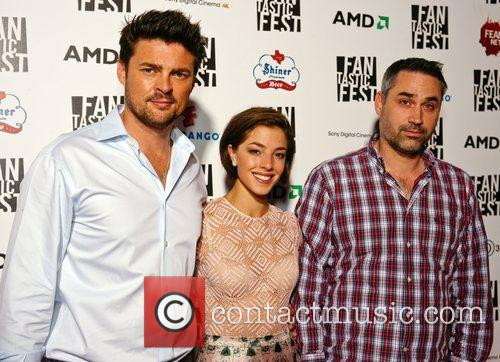Karl Urban, Olivia Thirlby and Alex Garland