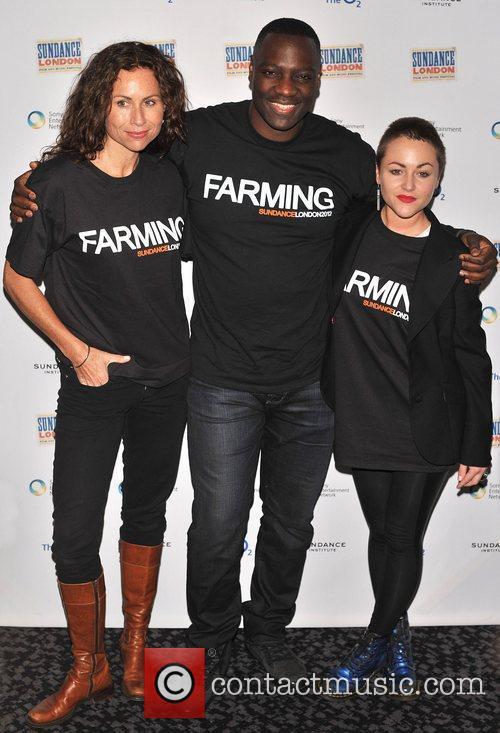 Sundance London: Cinema Cafe - 'Farming' Photocall held...