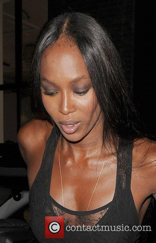 Naomi Campbell Fashion For Relief Party, held at...