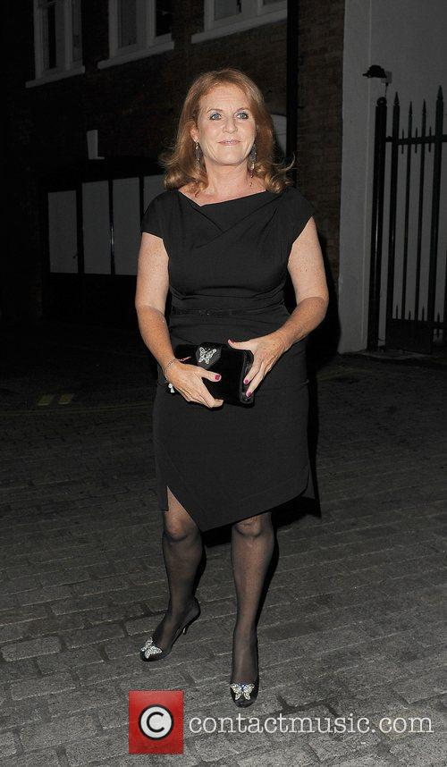 Sarah Ferguson Fashion For Relief Party, held at...