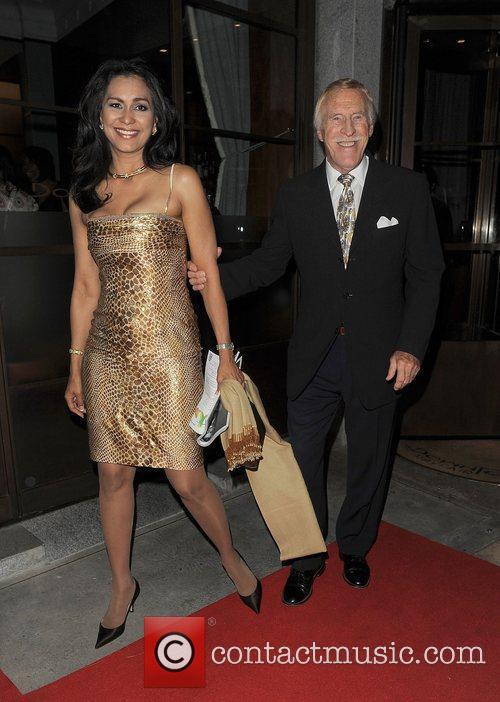 Bruce Forsyth and Wilnelia Merced Forsyth Fashion For...