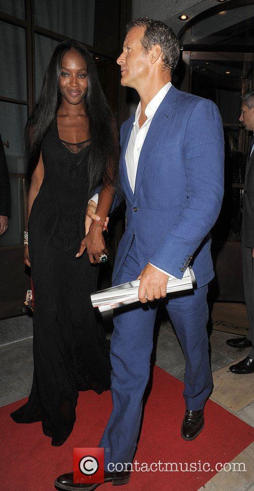 Naomi Campbell and Vladislav Doronin Fashion For Relief...