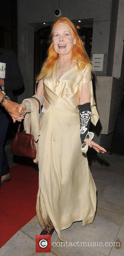 Vivienne Westwood Fashion For Relief Party, held at...