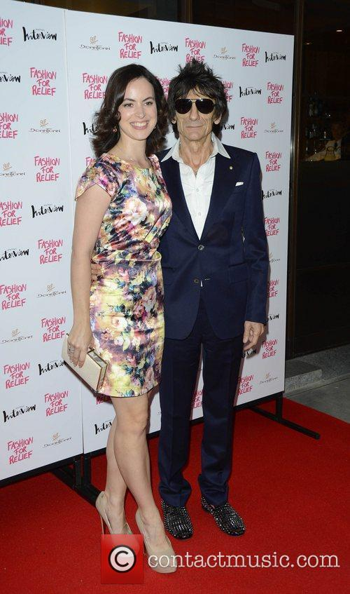 ronnie wood and sally humphries fashion for 4027346