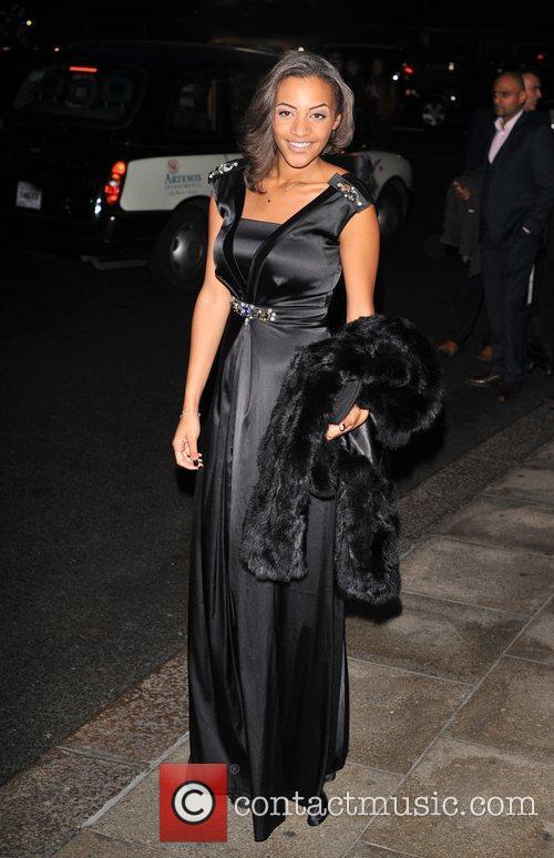 Amal Fashanu 'Fashion for the Brave' fundraising event...