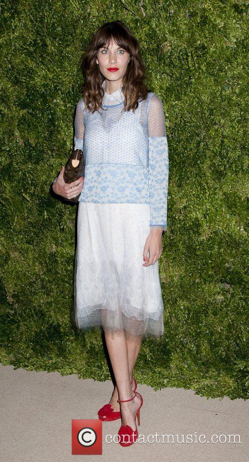 Alexa Chung CFDA/Vogue Fashion Fund