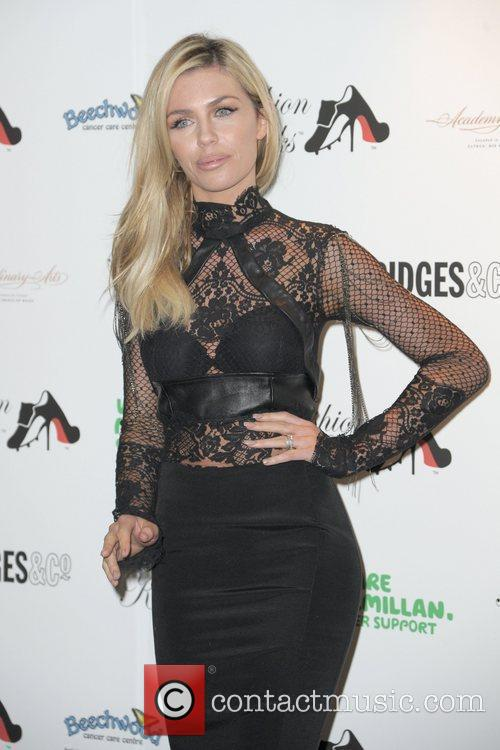 Abbey Clancy attends Fashion Kicks at Manchester Point...