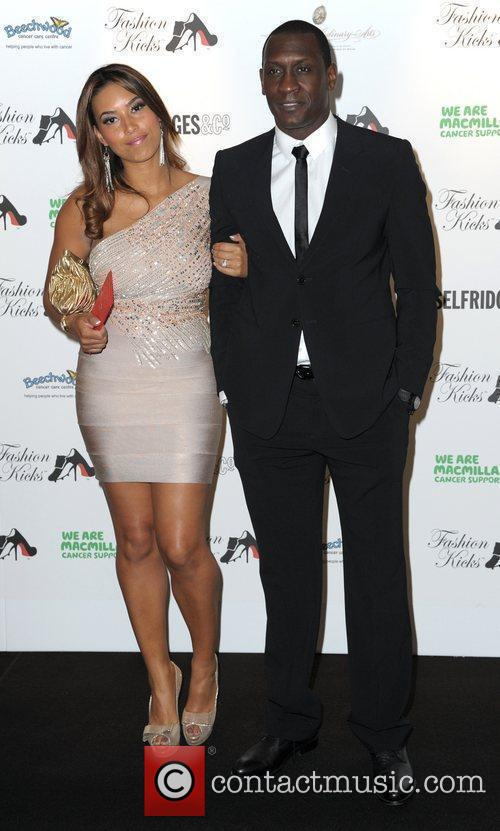 Emile Heskey and wife Chantelle attend Fashion Kicks...