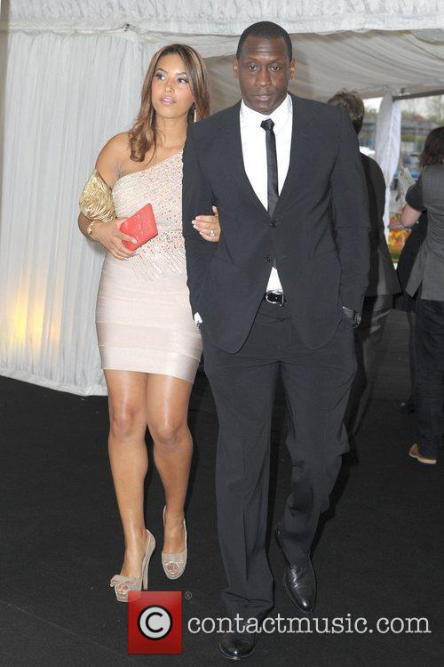 Emile Heskey and wife Chantelle Fashion Kicks at...