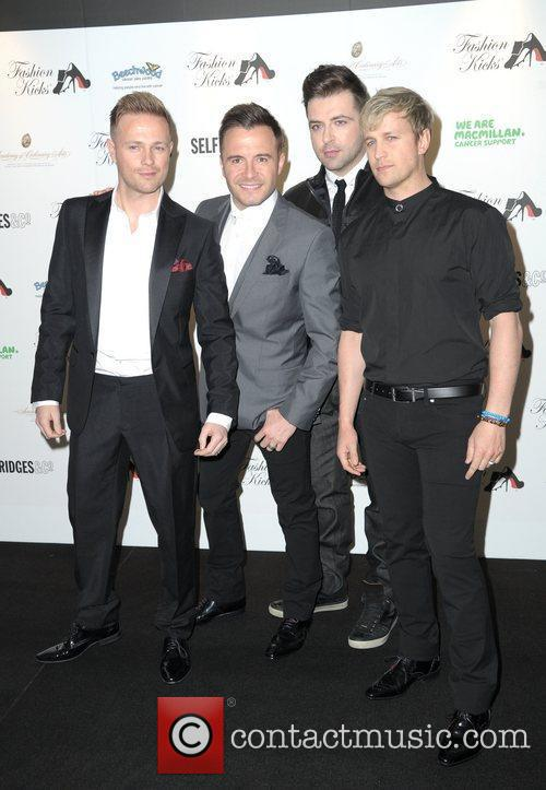 Westlife Fashion Kicks at Manchester Point Old Trafford...