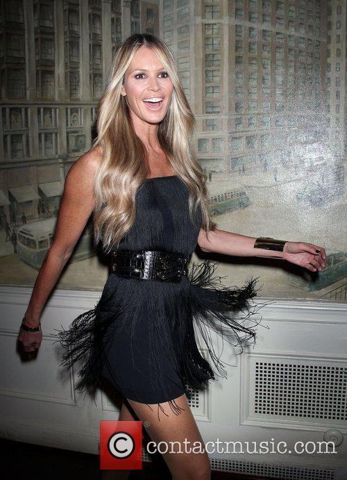 Elle Macpherson,  at the premiere party of...