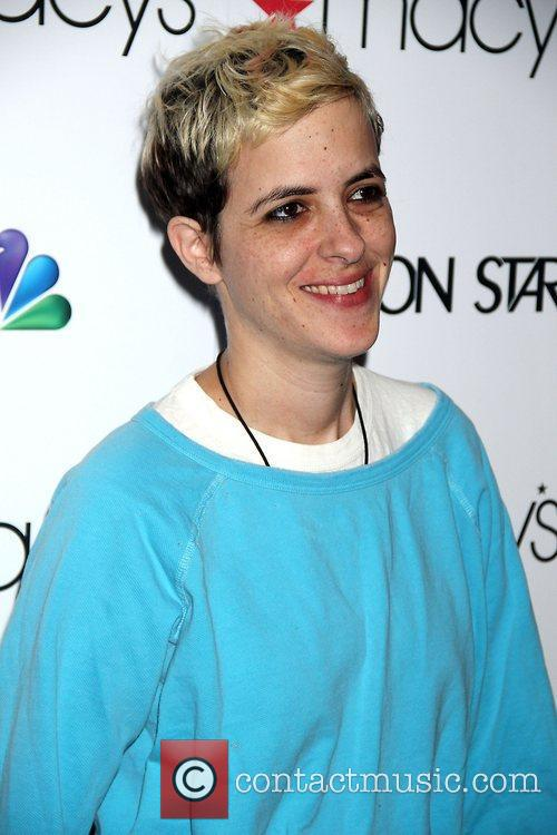Samantha Ronson,  at the premiere party of...