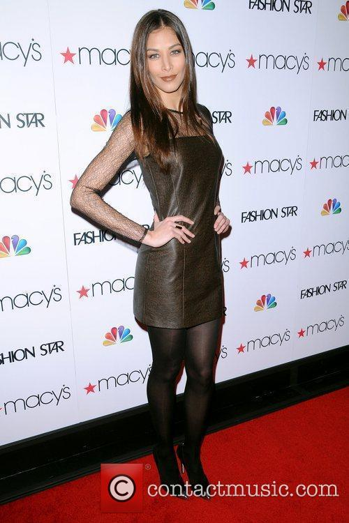 At the 'Fashion Star' celebration at Macy's Herald...
