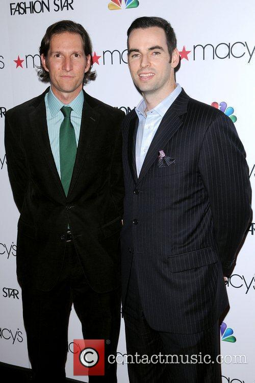 James Deutch and E.J. Johnston  at the...