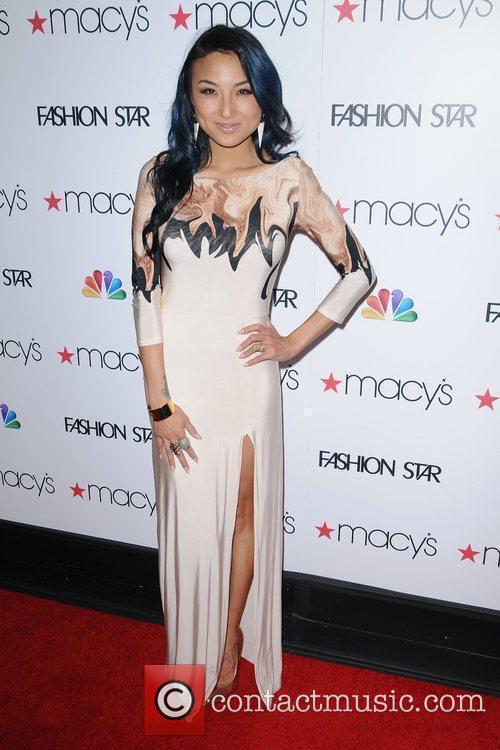 Jeannie Mai  at the 'Fashion Star' celebration...