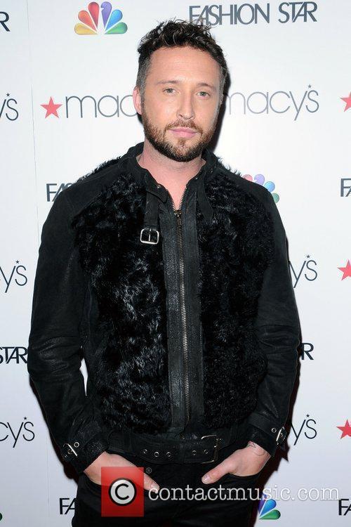 Nicholas Bowles  at the 'Fashion Star' celebration...