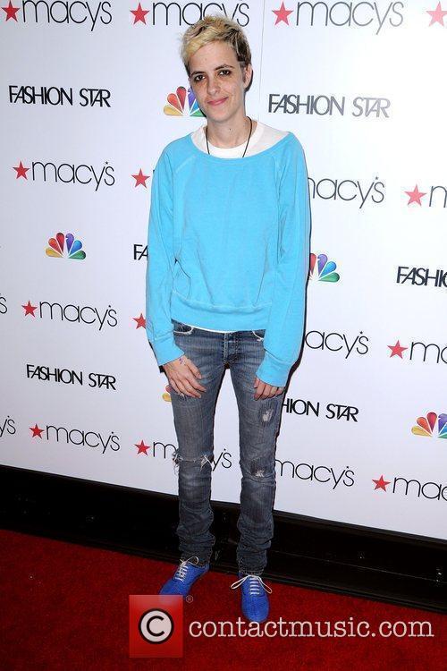 Samantha Ronson at the 'Fashion Star' celebration at...