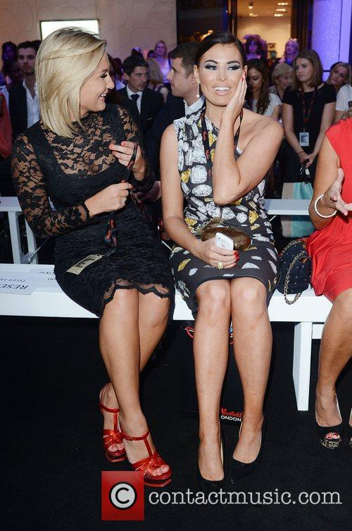 Sam Faiers and Jessica Wright at Vogue's Fashion's...