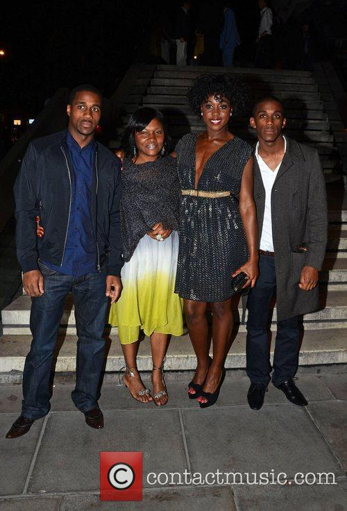 Lashana Lynch and guests The UK film premiere...