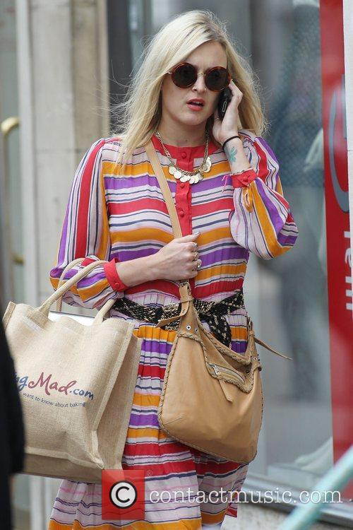 Fearne Cotton out and about in central London...