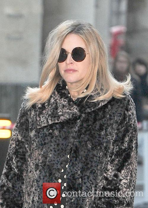 Fearne Cotton Fearne Cotton seen arriving at BBC...