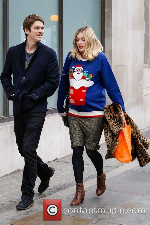 A pregnant Fearne Cotton  seen with her...