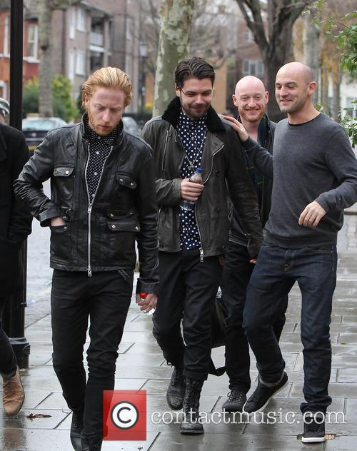 Simon Neil, James Johnston, Ben Johnston and Biffy Clyro 4