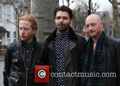 Simon Neil, James Johnston, Ben Johnston and Biffy Clyro 3