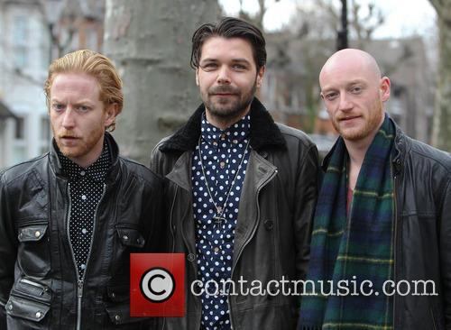 Simon Neil, James Johnston, Ben Johnston and Biffy Clyro 2