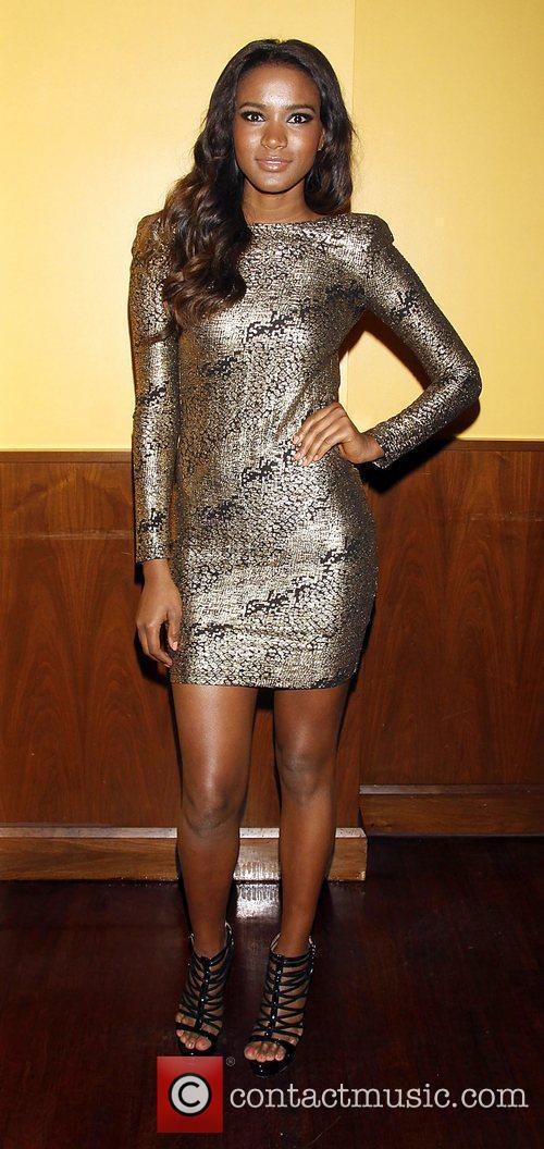 Miss Universe Leila Lopes  attending the afterparty...