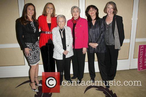 Diane Lane and Gloria Steinem 3