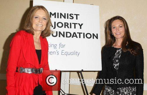 Gloria Steinem and Diane Lane 2