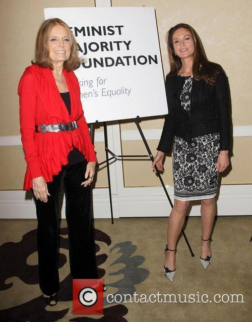 Gloria Steinem and Diane Lane 3